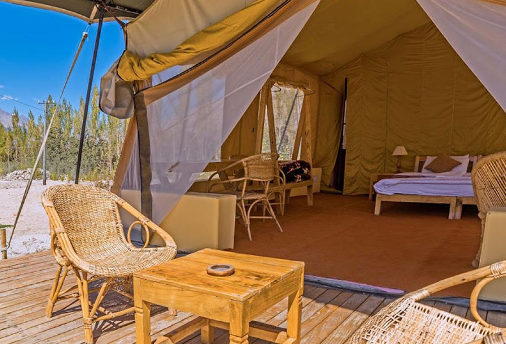 Nubra Ecolodge Safari Tent