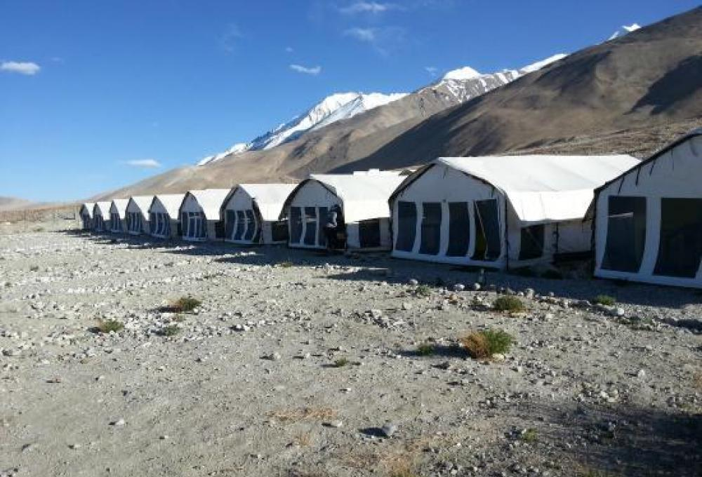 Pangong Heritage Camp In Pangung
