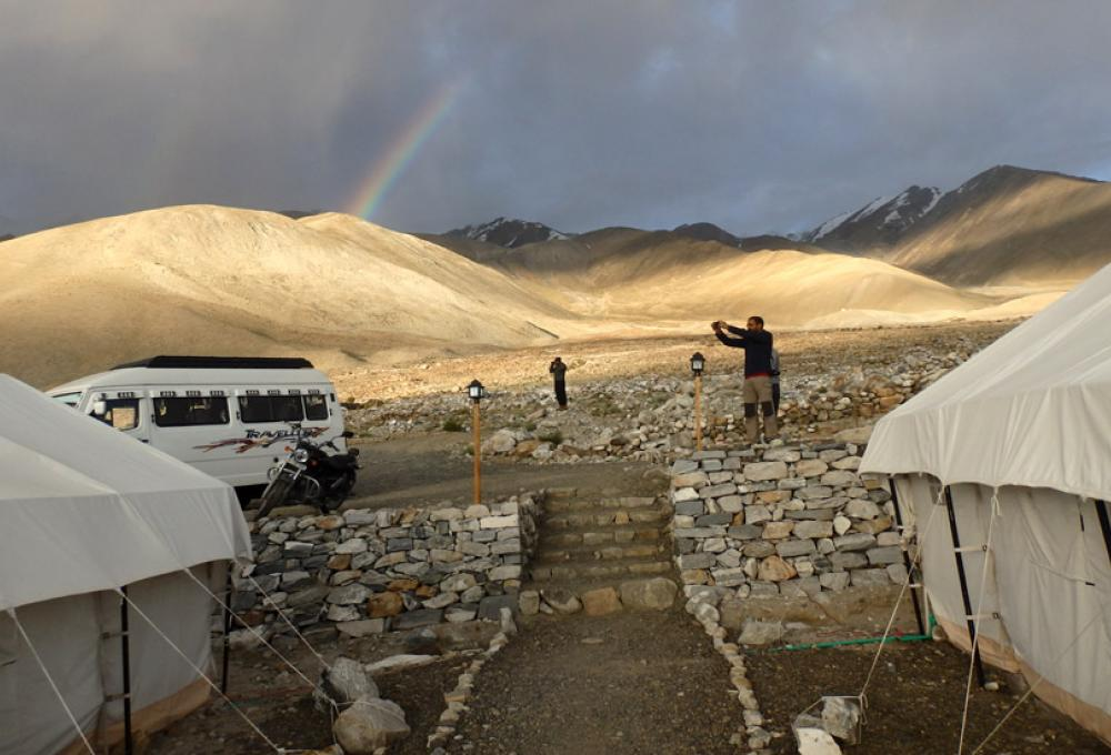 The Regal Camp Pangong