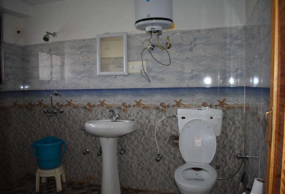 Hotel Rangyul Standard Room Washroom
