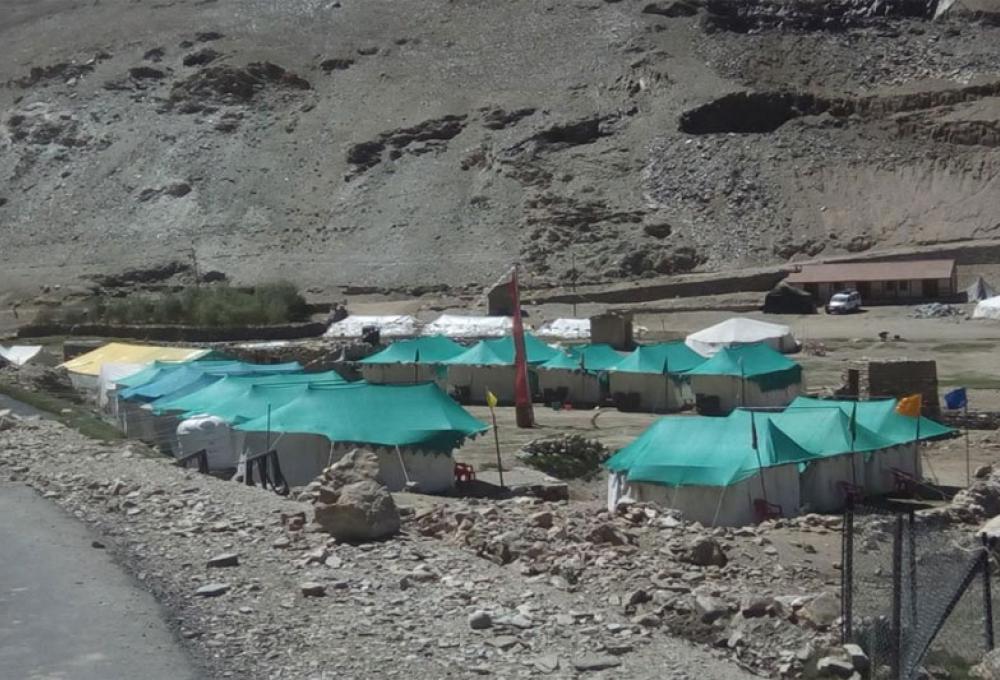 The Norling Camp Tsomoriri