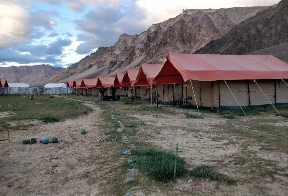 Goldrop Camp In Sarchu