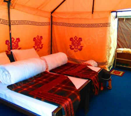 Deluxe Swiss Cottage Tent